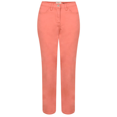 Sandwich Clothing Casual Cropped Trouser - Orange