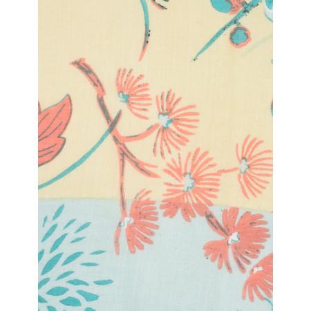 Sandwich Clothing Oriental Floral Print Scarf - Beige
