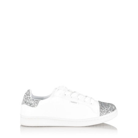 Holster Stardust Sparkle Trainer Shoe - White
