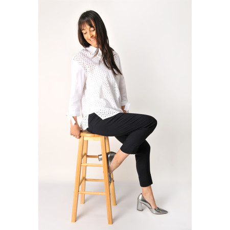 Great Plains Eliza Embroidery Shirt - White