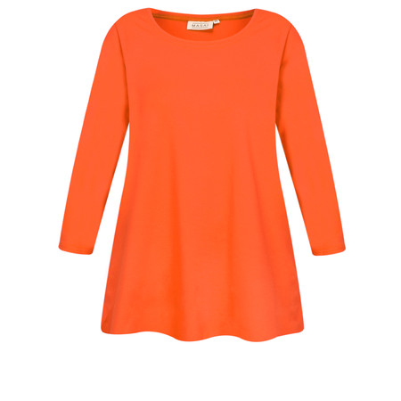 Masai Clothing Cilla Basic Top - Orange
