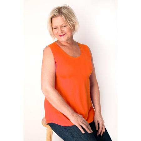 Masai Clothing Elisa Basic Top - Orange