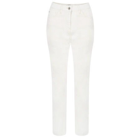 Sandwich Clothing Casual Cropped Trouser - White