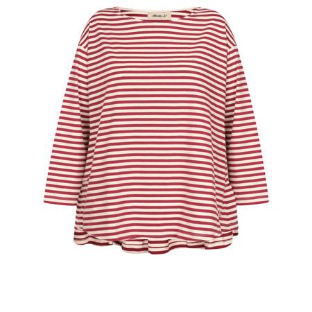 Mama B Drias Striped Top - Red