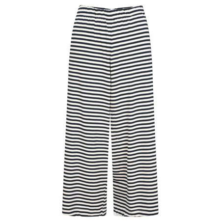 Mama B Pampa Striped Trousers - Blue
