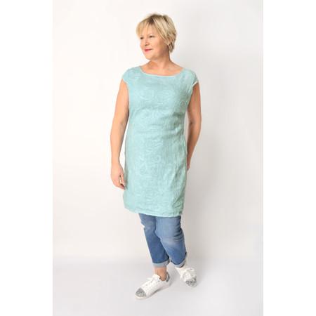 DECK Neve Linen Dress - Blue
