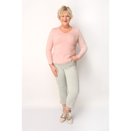 DECK Fallon Knit Jumper - Pink