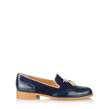 HB Shoes Logan Trend Loafer - Blue
