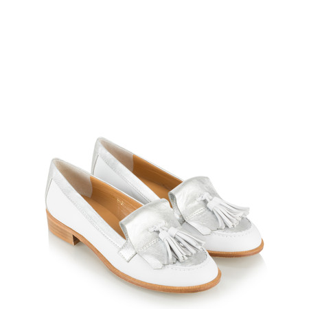 HB Shoes Caro Heritage Loafer  - White