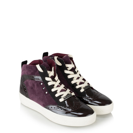 Tamaris  Rachel High Top trainer Shoe - Purple