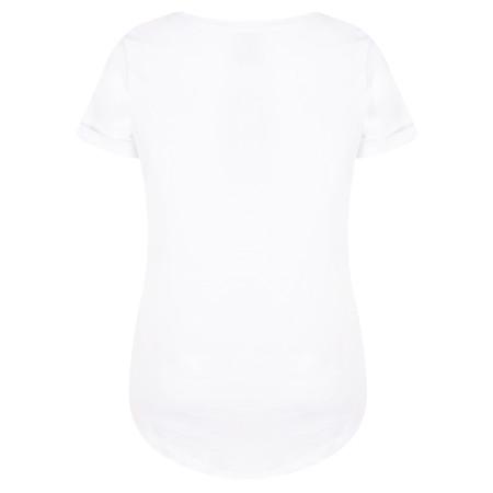 ICHI Solis Slogan Print T-Shirt - White