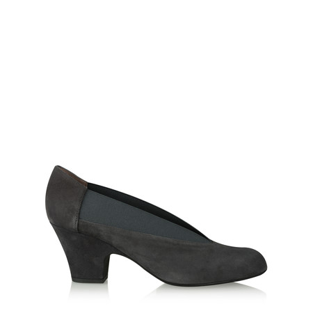 Gemini Label  Brumabe Suede Shoe - Grey