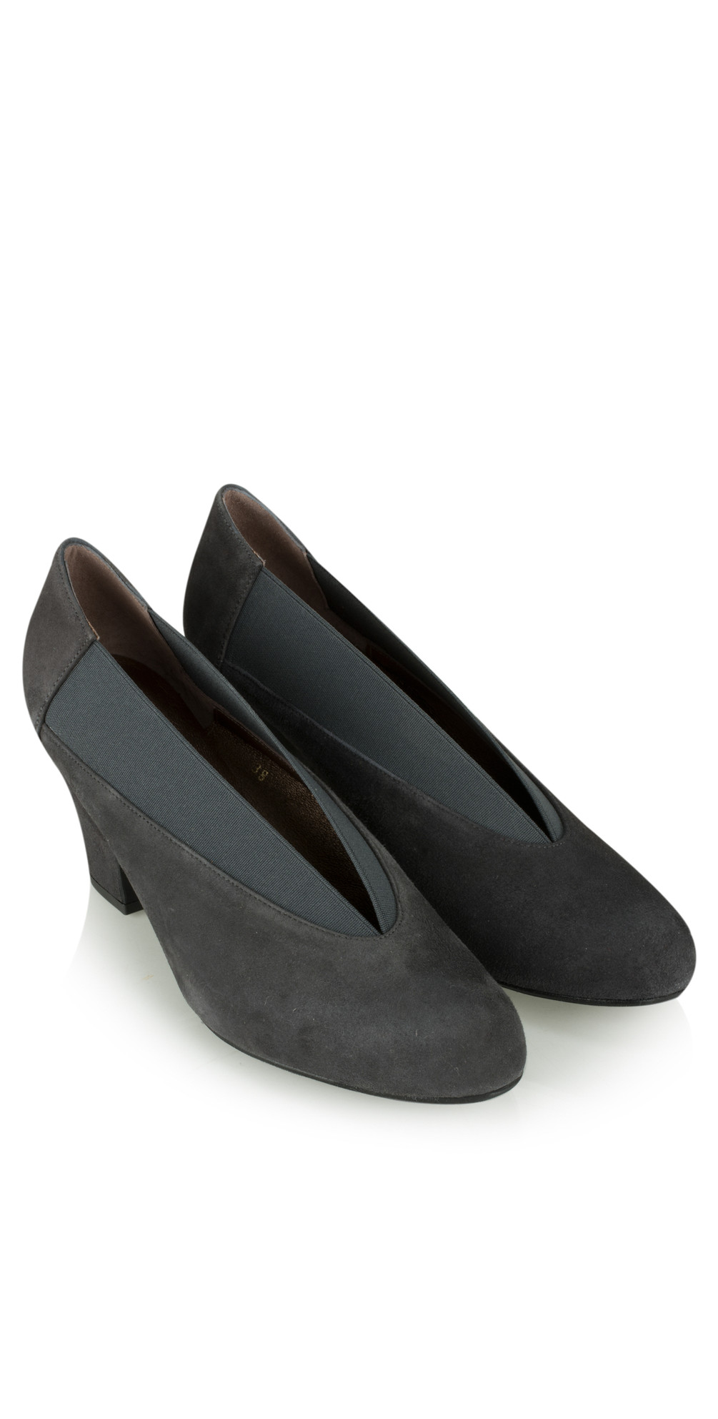Brumabe Anthracite Suede Shoe main image