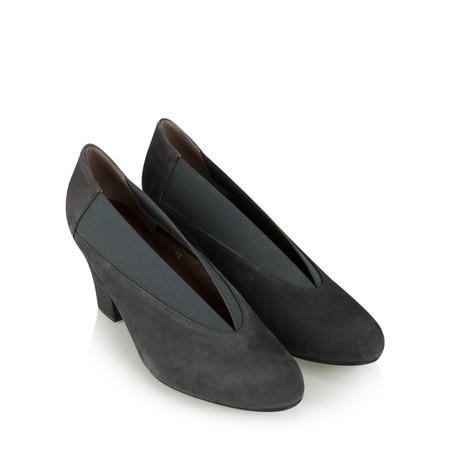 Gemini Label  Brumabe Suede Shoe - Grey