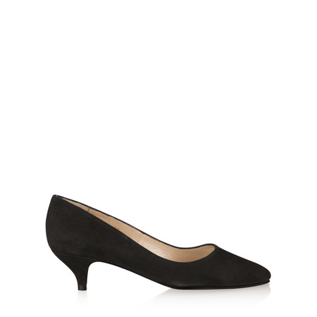 Gemini Label Shoes Daila Kitten Heel Shoe - Black