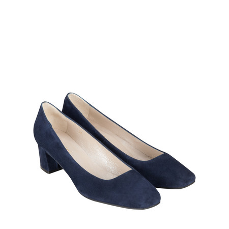 Gemini Label Shoes Lena Suede Shoe - Blue