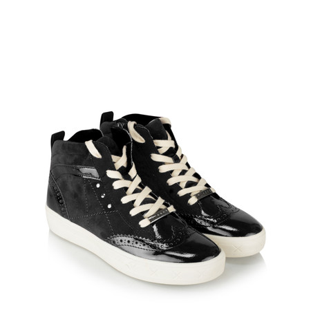 Tamaris  Rachel High Top trainer Shoe - Black