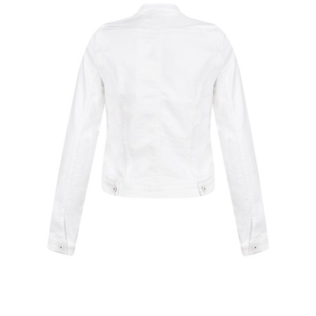 ICHI Ivana Denim Jacket - White