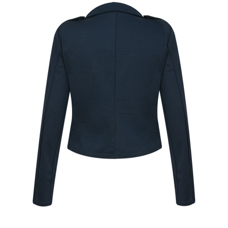 ICHI Kate Biker Jacket - Blue