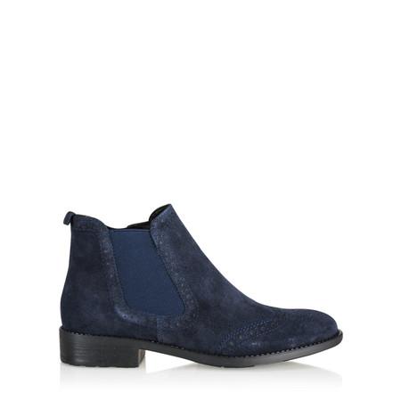 Tamaris  Erin Brogue Chelsea Boot - Blue