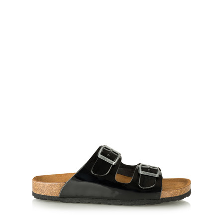 Tamaris  Double Strap Sandal - Black