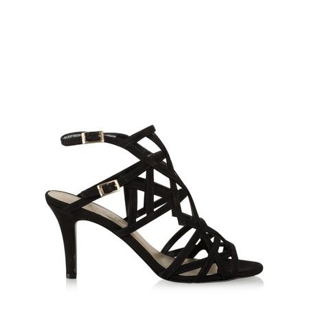 Tamaris   Strappy High Heel Sandal - Black