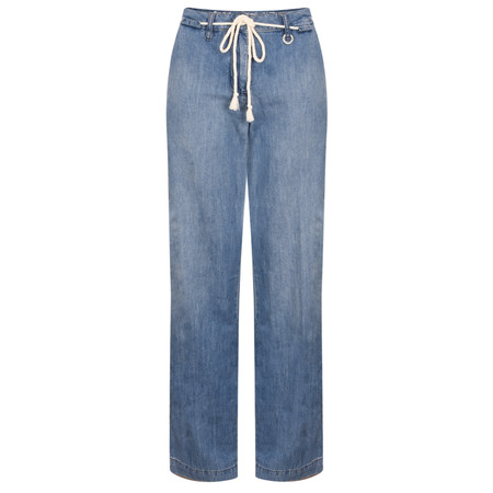 Sandwich Clothing Malmo Wide-Leg Jeans - Blue