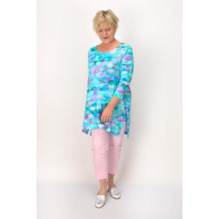 Sahara Pissarro Print Jersey Tunic - Multicoloured