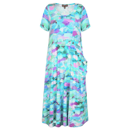 Sahara Pissarro Print Jersey Dress - Multicoloured