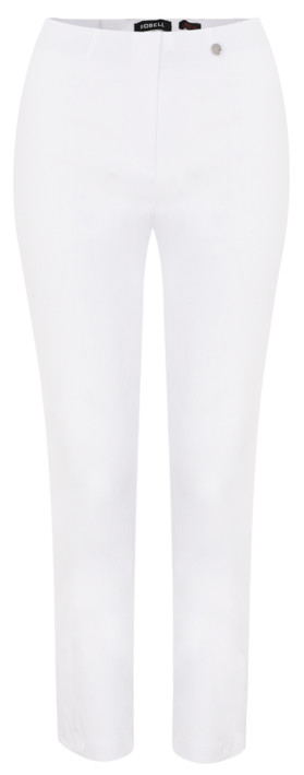 Robell Trousers Lena Ankle Detail Trouser White