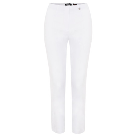 Robell Trousers Lena Ankle Detail Trouser - White