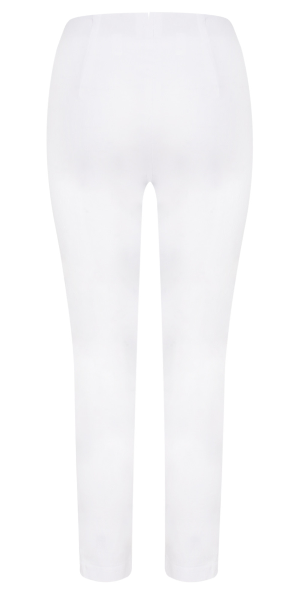 Lena White Ankle Detail Cropped Trouser main image