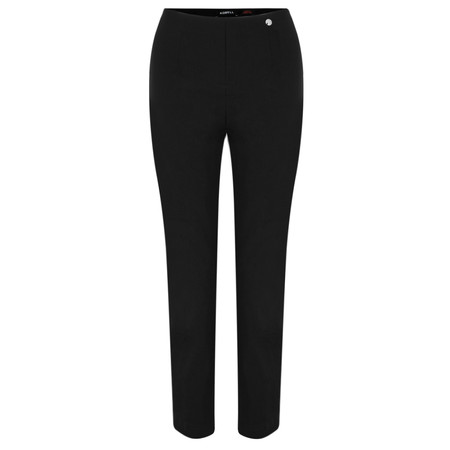 Robell  Lena Ankle Detail Trouser - Black
