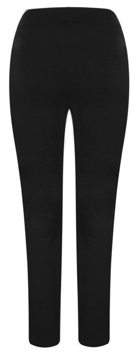 Robell  Lena Ankle Detail Trouser Black