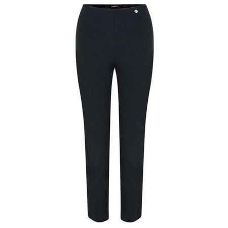Robell Trousers Lena Ankle Detail Trouser - Blue