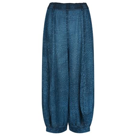 Grizas Vilma Oliato Check Trouser - Blue
