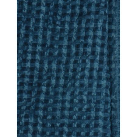 Grizas Aneta Oliato Check Scarf - Blue