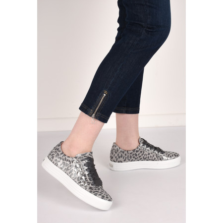 Kennel Und Schmenger Up Crystal Print Trainer Shoe - Grey