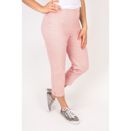 Robell Trousers Marie 07 Cropped Trouser - Pink