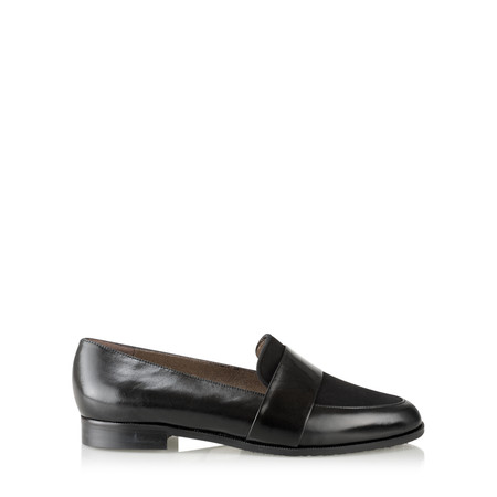 Gemini Label Cavani Loafer - Black