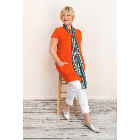 Masai Clothing Galina Tunic - Orange