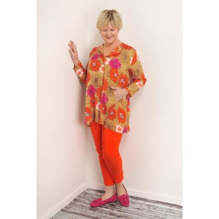 Masai Clothing Idarla Blouse - Orange