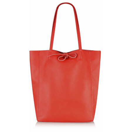 Gemini by PWA  Ribera Leather Tote Bag  - Red