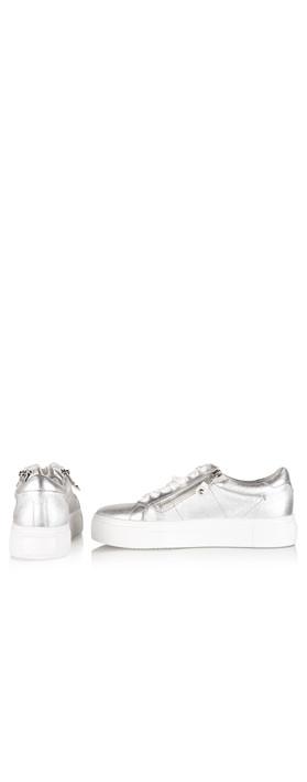 Kennel Und Schmenger Big Zip Trainer Shoe Silver