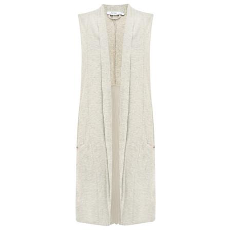 Myrine Lotus Jersey Jacket - Beige