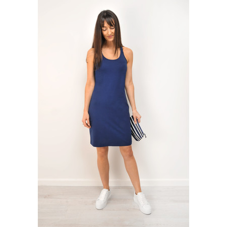 Sandwich Clothing Long length Vest Top - Blue