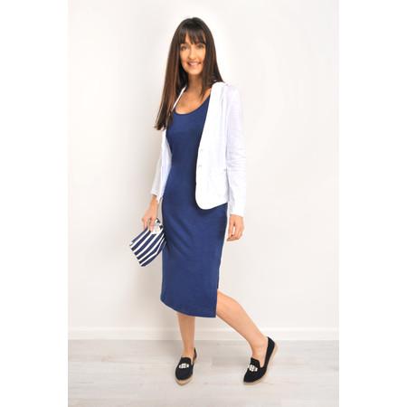 Sandwich Clothing Sporty Slim fit Jersey Dress - Blue