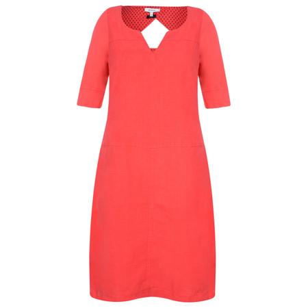 Sandwich Clothing Linen Cutout Back Dress - Pink