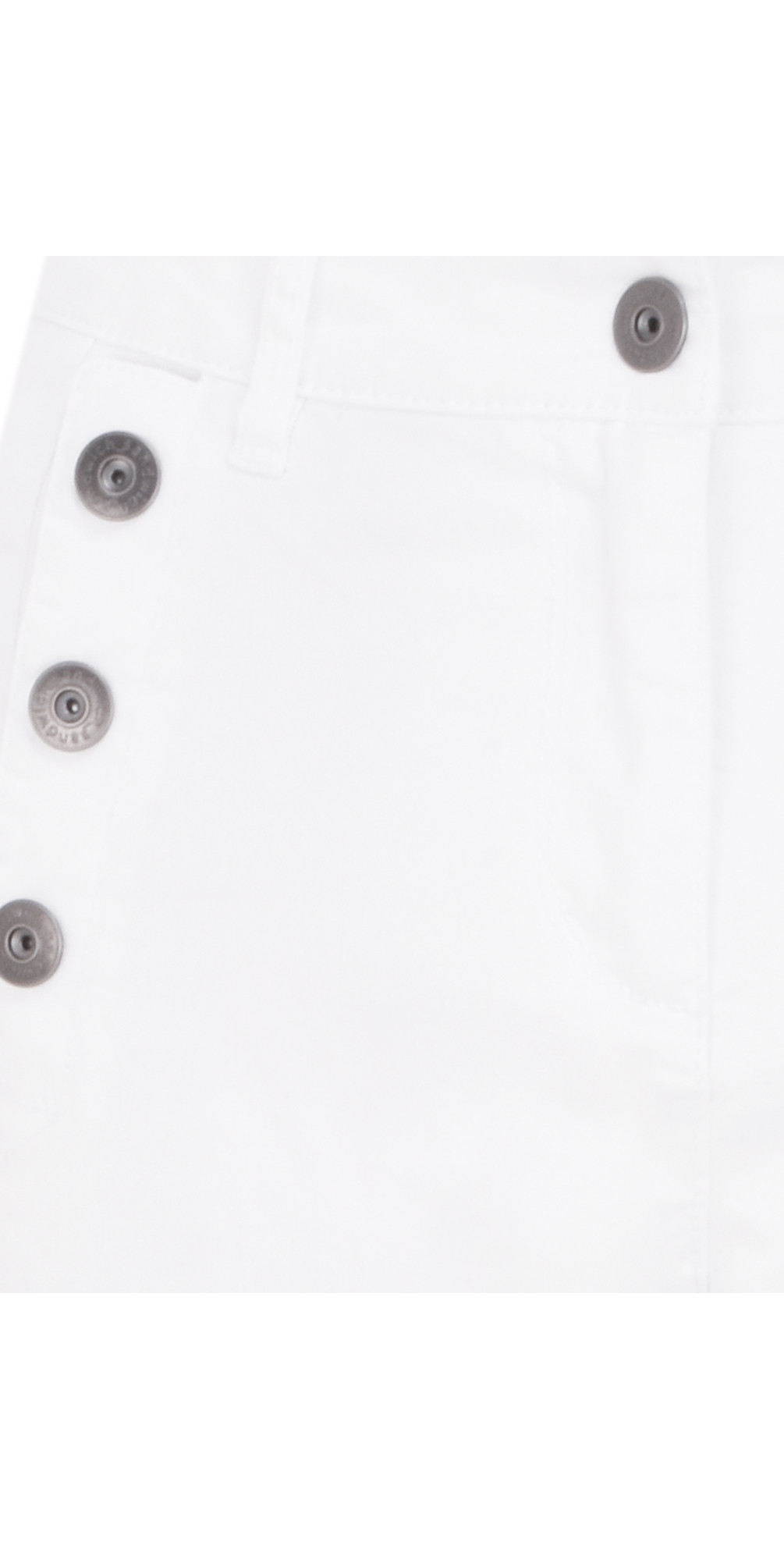 Button Detail Cropped Trousers main image