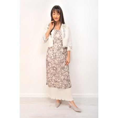 Myrine Gazan Lace Dress - Purple